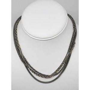 Silpada 4-Strand Sterling Silver Necklace